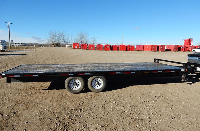 Flat Deck Trailer >> 24 Flat Deck Trailer Challenger Rig Rentals